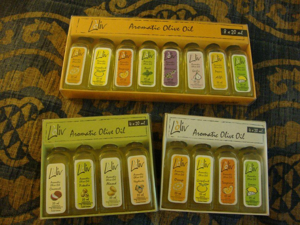 チュニジアのオリーブオイルセット