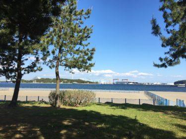 横浜唯一の海水浴場がある海の公園、何があってどんなイベントをやっているの?