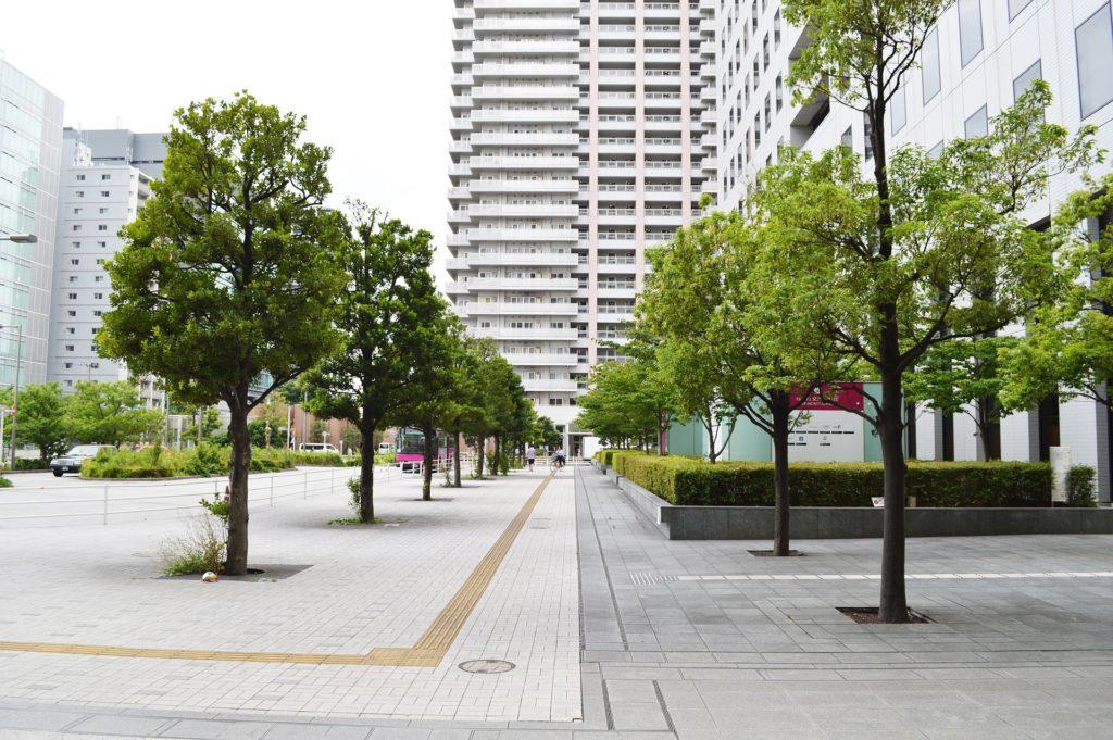 品川駅オフィス街