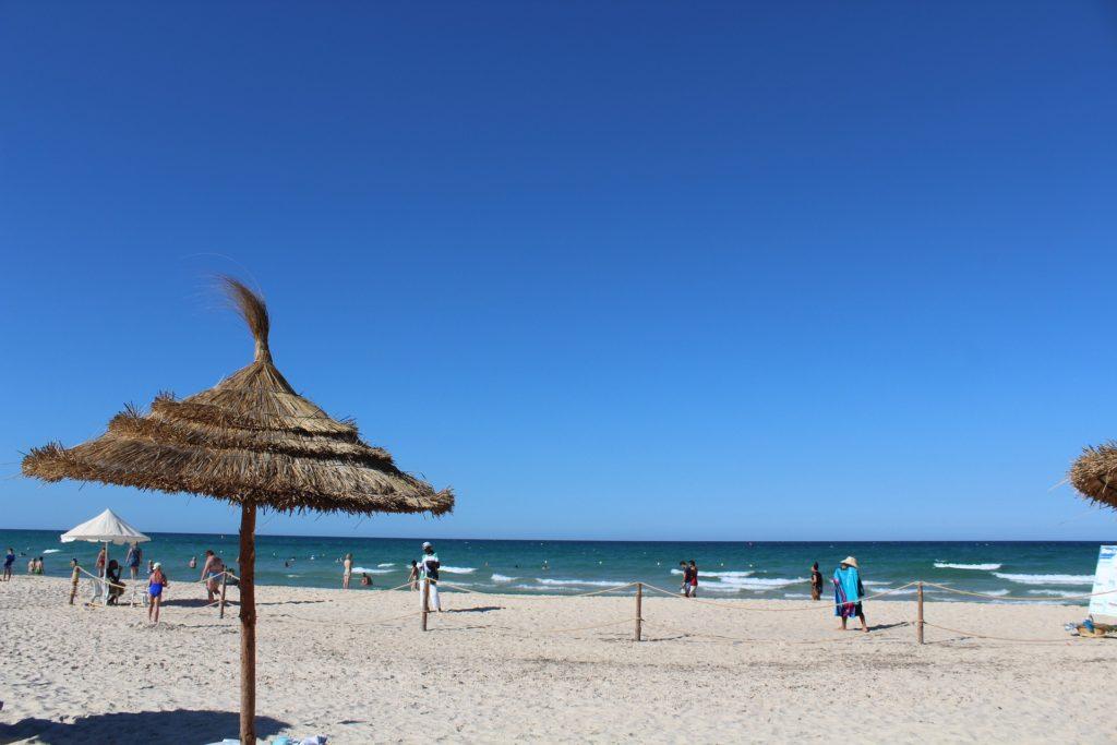 チュニジアビーチ