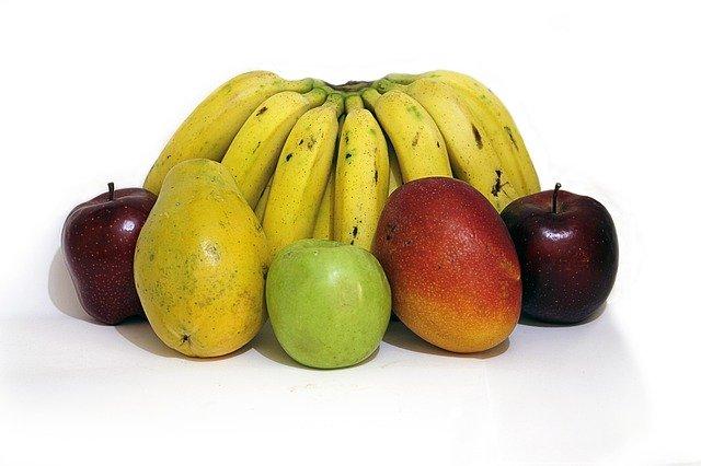 バナナ、リンゴ