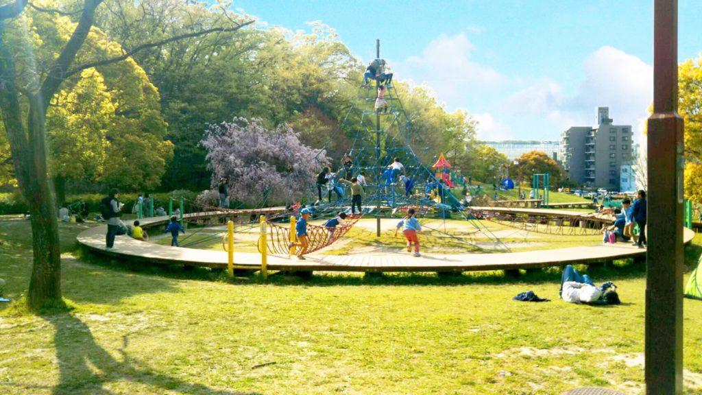 牧野ヶ池緑地公園 わいわい広場