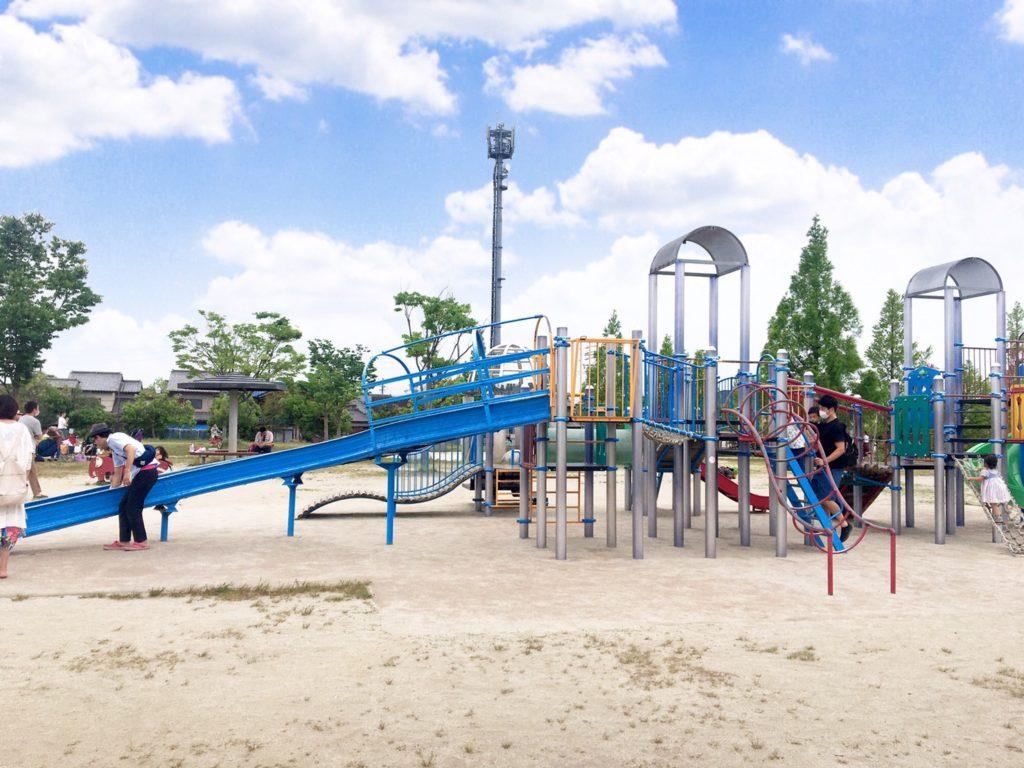 野方三ツ池公園複合遊具