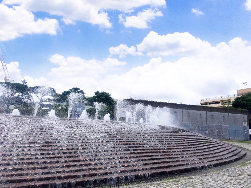 うみかぜ公園 水の丘噴水