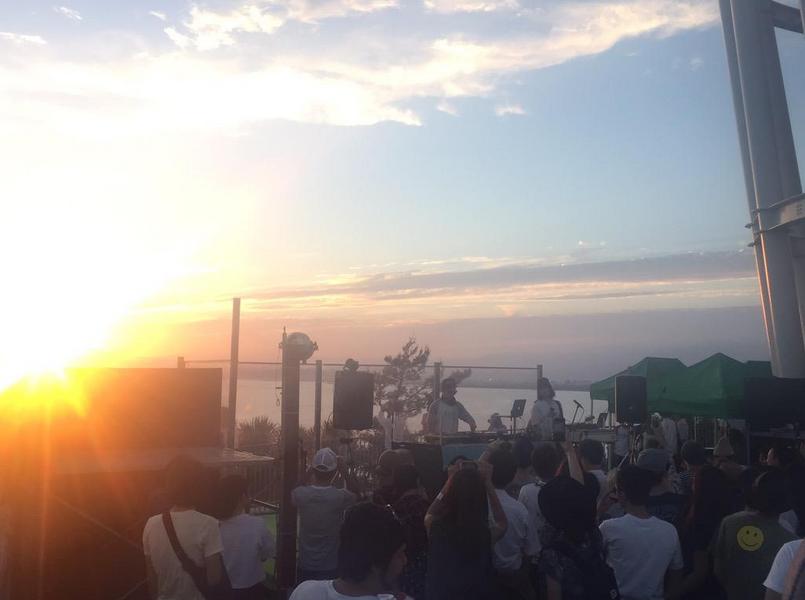 江ノフェス サンセットラウンジイベント