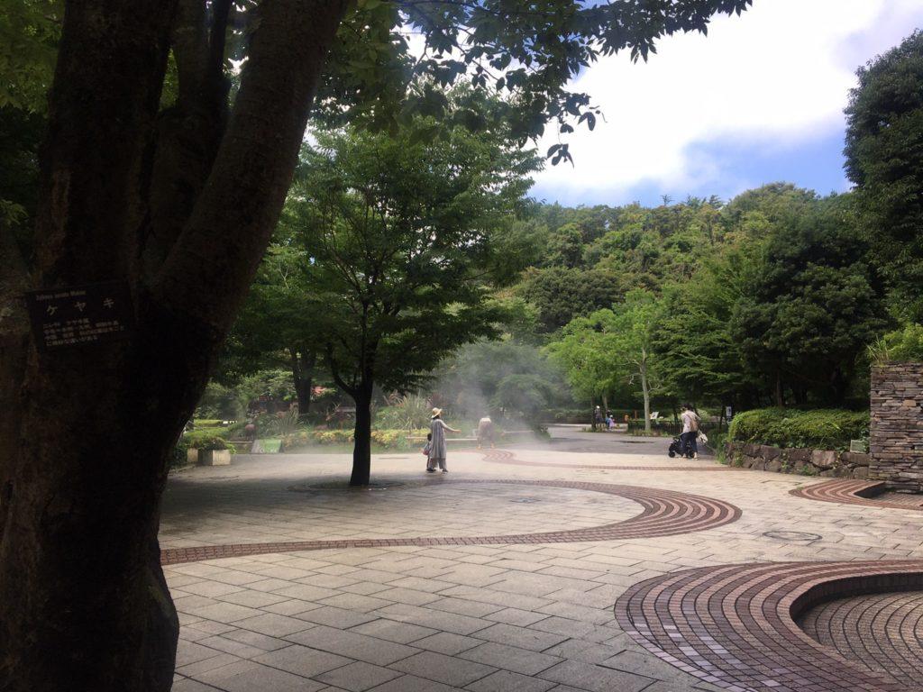 金沢自然公園・金沢動物園ミスト