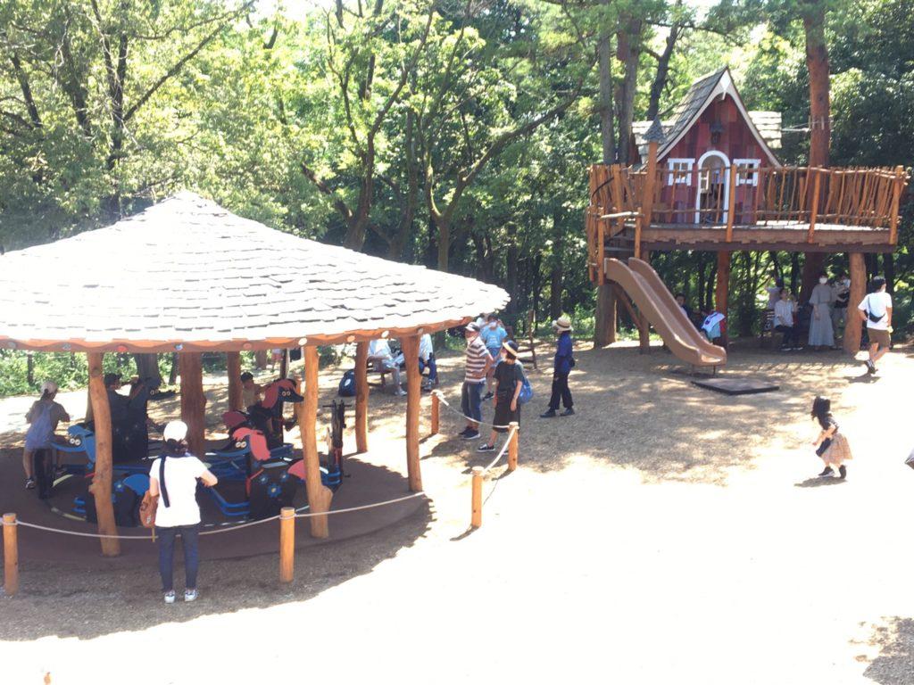 メッツァ・ムーミンバレーパーク・ヘムレンさんの遊園地