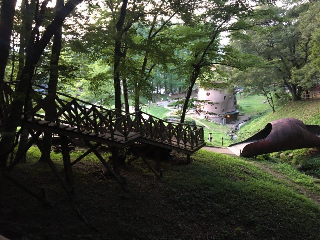 トーベ・ヤンソンあけぼの子どもの森公園・デッキウォーク・見晴らし橋