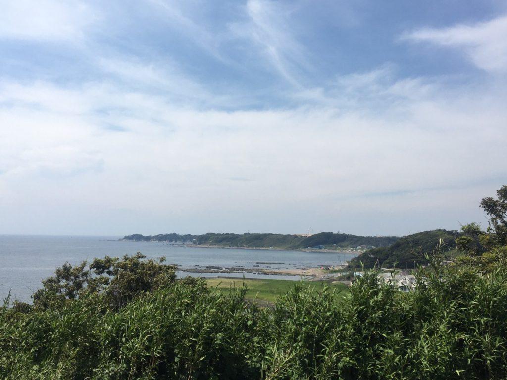 三崎口カフェサンセットテラスasora(アソラ)・店内からの眺望