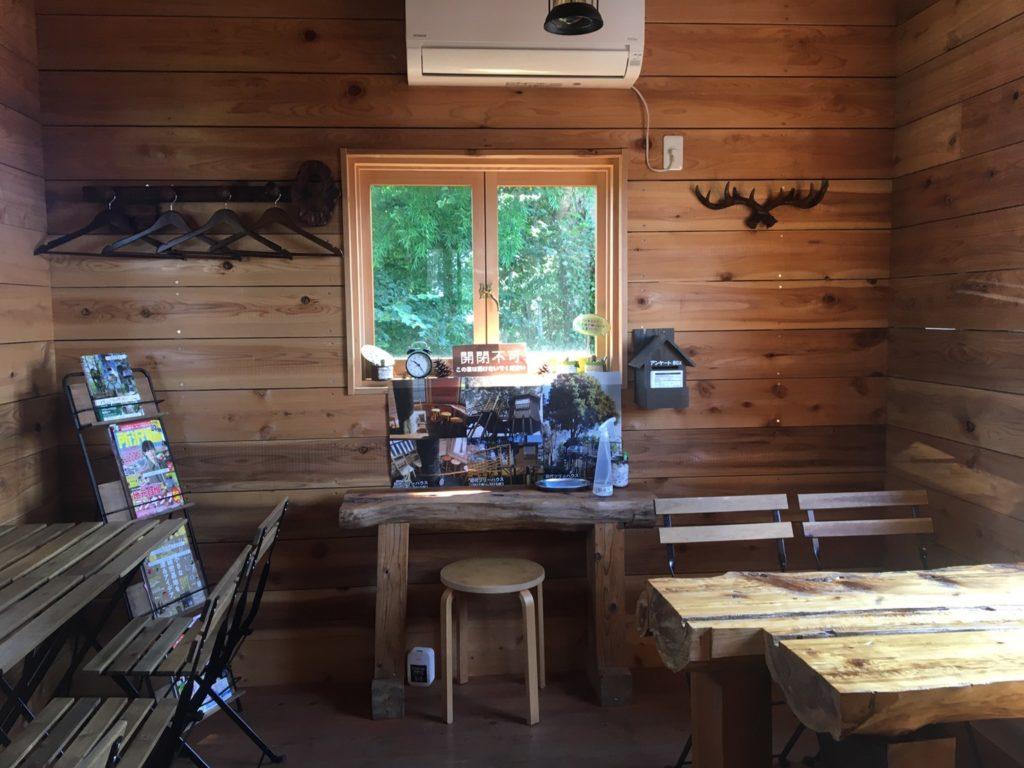 所沢ツリーハウスカフェnicorico2階室内席