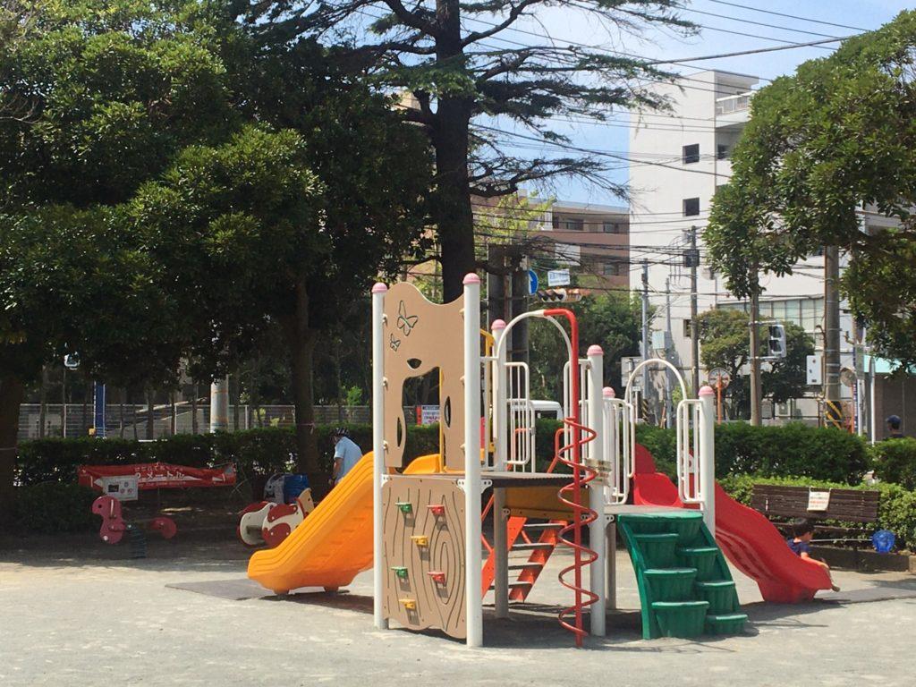 追浜公園 複合遊具