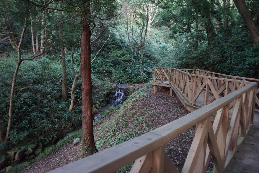 トーベ・ヤンソンあけぼの子どもの森公園・滝