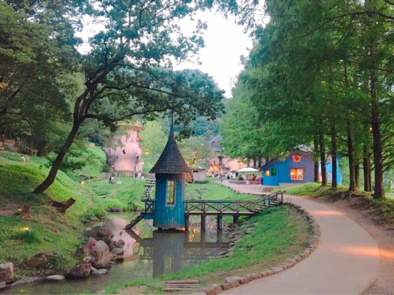 トーベ・ヤンソンあけぼの子どもの森公園・水あび小屋