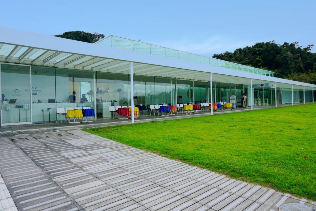 横須賀美術館レストラン「アクアマーレ」