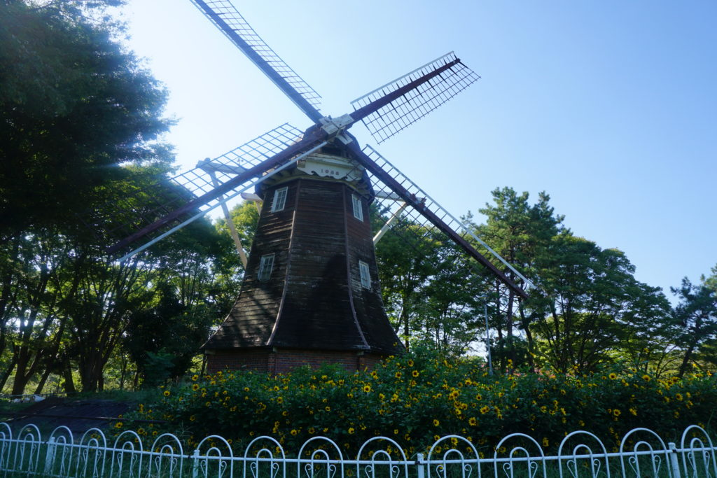 名城公園 オランダ風車