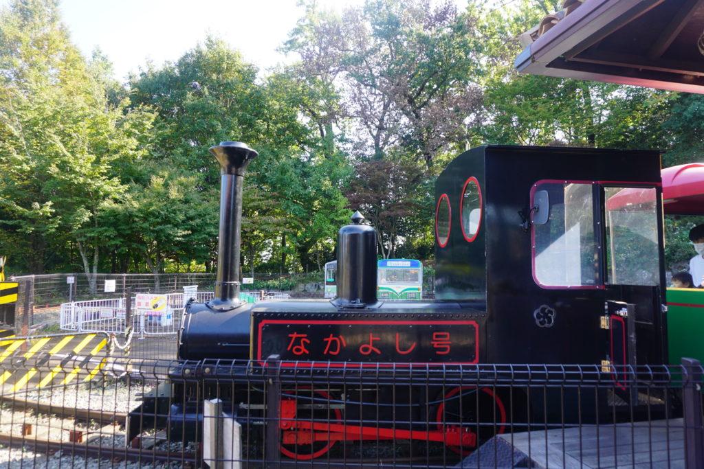 小田原こどもの森公園わんぱくらんど こども列車 なかよし号