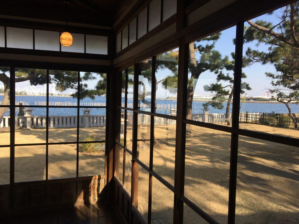 野島公園 伊藤博文金沢別邸