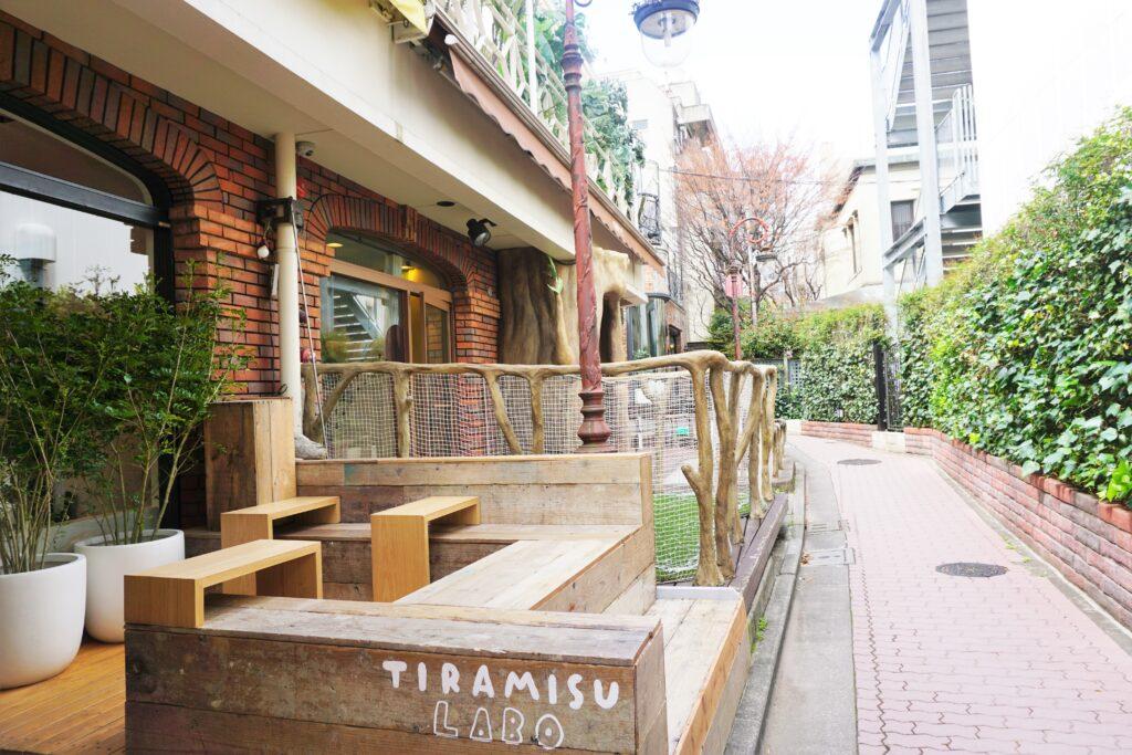 原宿 韓国ティラミス TIRAMISU LABO ティラミスラボ テラス